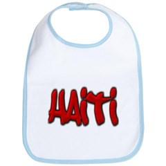 Haiti Graffiti Baby Bib