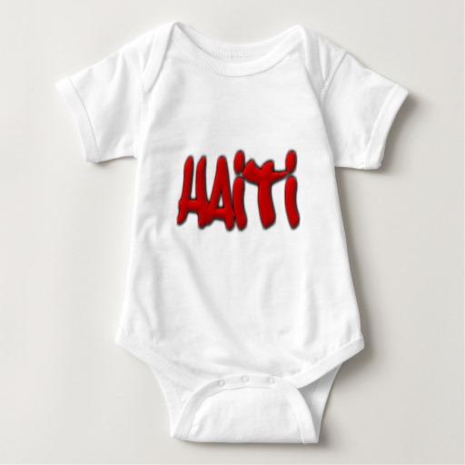 Haiti Graffiti Baby Jersey Bodysuit