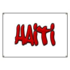 Haiti Graffiti Banner