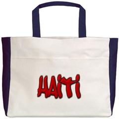 Haiti Graffiti Beach Tote Bag