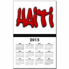 Haiti Graffiti Calendar Print