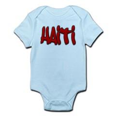 Haiti Graffiti Infant Bodysuit