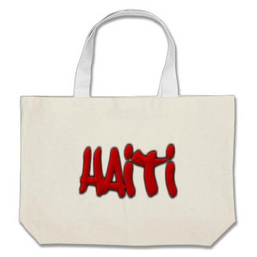 Haiti Graffiti Jumbo Tote