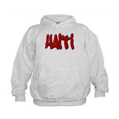 Haiti Graffiti Kids Sweatshirt by Hanes
