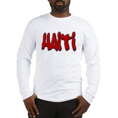 Haiti Graffiti Long Sleeve T-Shirt