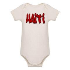 Haiti Graffiti Organic Baby Bodysuit