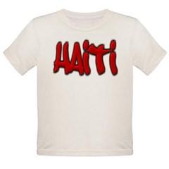 Haiti Graffiti Organic Toddler T-Shirt