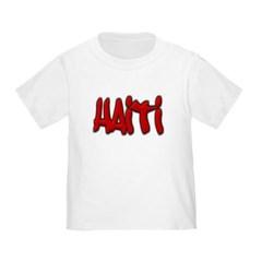 Haiti Graffiti Toddler T-Shirt