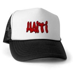 Haiti Graffiti Trucker Hat