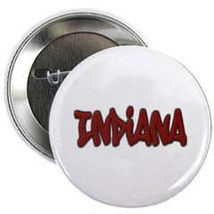 "Indiana Graffiti 2.25"" Button"