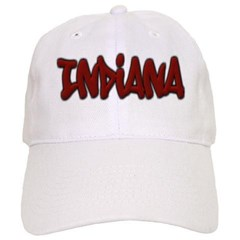 Indiana Graffiti Baseball Cap