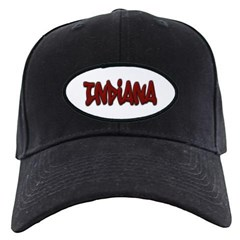 Indiana Graffiti Baseball Hat