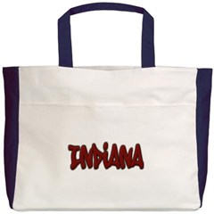 Indiana Graffiti Beach Tote Bag