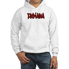 Indiana Graffiti Hooded Sweatshirt