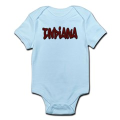 Indiana Graffiti Infant Bodysuit