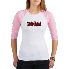 Indiana Graffiti Junior Raglan T-shirt