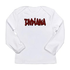 Indiana Graffiti Long Sleeve Infant T-Shirt