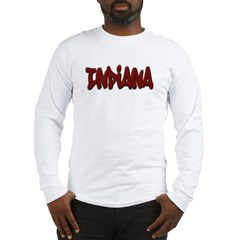 Indiana Graffiti Long Sleeve T-Shirt