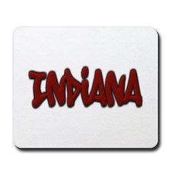 Indiana Graffiti Mousepad
