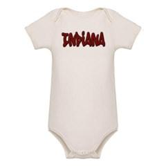 Indiana Graffiti Organic Baby Bodysuit