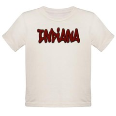 Indiana Graffiti Organic Toddler T-Shirt