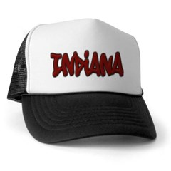 Indiana Graffiti Trucker Hat