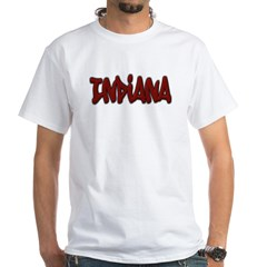 Indiana Graffiti White T-Shirt