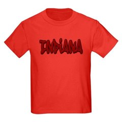 Indiana Graffiti Youth Dark T-Shirt by Hanes