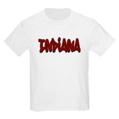 Indiana Graffiti Youth T-Shirt by Hanes