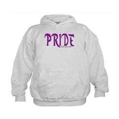 Pride Logo Kids Sweatshirt by Hanes