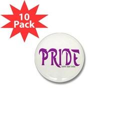 Pride Logo Mini Button (10 pack)