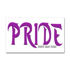 Pride Logo Rectangle Decal