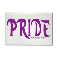 Pride Logo Rectangle Magnet