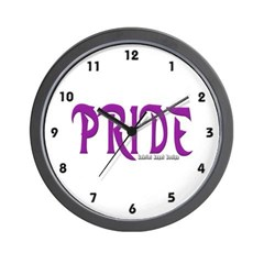 Pride Logo Wall Clock