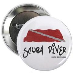 Scuba Diver Waves Button
