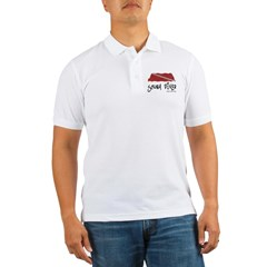 Scuba Diver Waves Golf Shirt