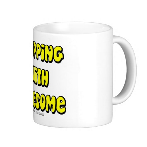 Dripping with Awesome Classic White Mug