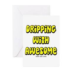 Dripping with Awesome Greeting Cards (Pk of 10)