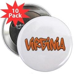 "Virginia Graffiti 2.25"" Button (10 pack)"