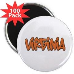 """Virginia Graffiti 2.25"""" Magnet (100 pack)"""