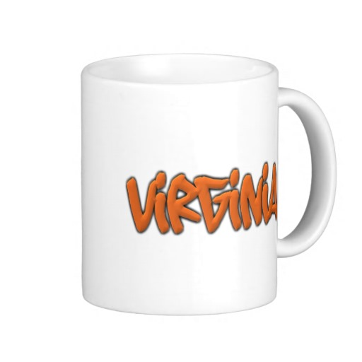 Virginia Graffiti Classic White Mug