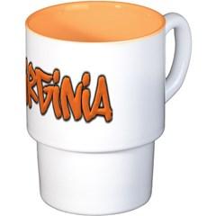 Virginia Graffiti Coffee Cups