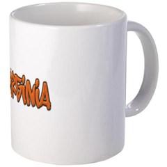 Virginia Graffiti Coffee Mug