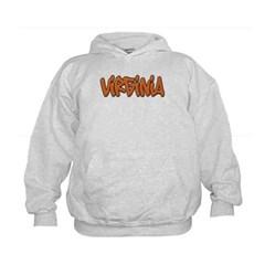 Virginia Graffiti Kids Sweatshirt by Hanes