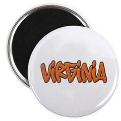 Virginia Graffiti Magnet