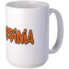 Virginia Graffiti Mug