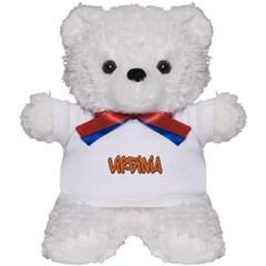 Virginia Graffiti Teddy Bear