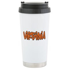 Virginia Graffiti Travel Mug