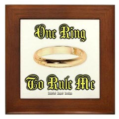One Ring Framed Tile