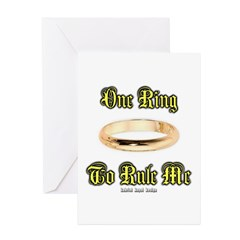 One Ring Greeting Cards (Pk of 20)